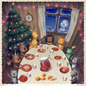 Рождественская сказка «Киевстар»