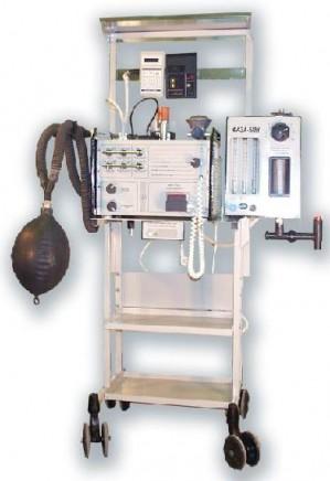 Аппарат ИВЛ Фаза-5НР – незаменим при подготовке пациентов к операции.