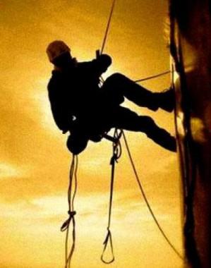 Промышленный альпинизм – это трудовой каждодневный героизм