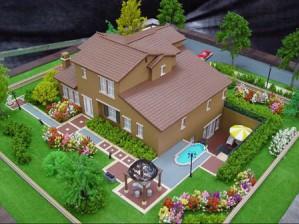 Три макета новых коттеджей от компании «Монтос-Дом» будут представлены на выставке «Недвижимость-2013»