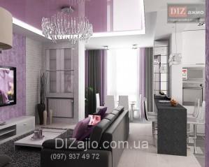 Дизайн интерьера квартиры в модном стиле по желанию заказчика