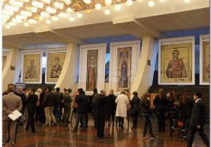 Благодатная помощь православных святынь: выставка мерных икон в Армении