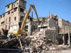 Демонтажные работы в условиях мегаполиса