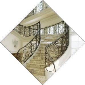Мраморные лестницы и ступени - будьте всегда на высоте!