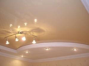 Двухуровневые натяжные потолки – красивее решение для любых интерьеров
