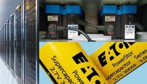 Eaton представляет суперконденсаторы для ИБП – надежное средство резервного электроснабжения для кратковременных рабочих циклов