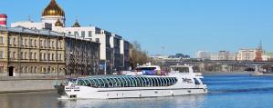 Новый теплоход «КолесовЪ» для поездок по Москве-реке