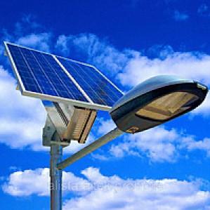 Солнечная энергия для освещения улиц