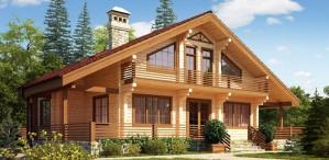 Долговечные и надежные дома из бруса от компании «Минидомик»