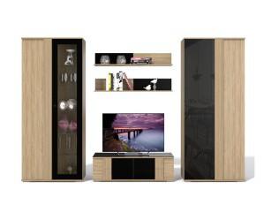 Расширение линейки модулей мебели для гостиной «Ален»