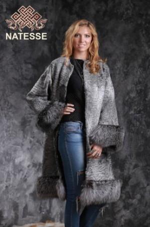 Шуба пальто жилет из натурального меха