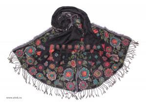 Шерстяные палантины по единой акционной цене в интернет-магазине Venera