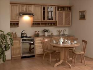 Эксклюзивные кухни из дерева на заказ