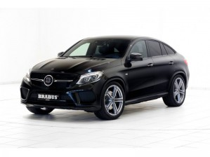 Тюнинг от Brabus для Mercedes-AMG GLE 43 Coupe