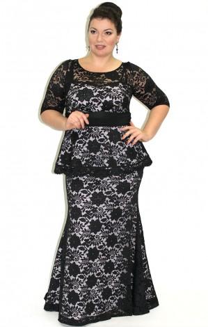 Магазин платьев для полных женщин: обзор самых модных моделей