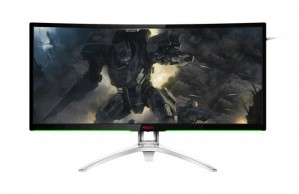 Полное погружение: игровой монитор AOCAGON с изогнутым экраном и поддержкой NVIDIA G-SYNC