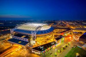 Eaton и Nissan электрифицируют стадион Amsterdam ArenA с помощью аккумуляторных батарей от электромобилей