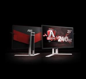 Игровые мониторы AOC AGON с частотой 240 Гц – уже в продаже