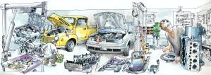Книги по ремонту авто: устраняем поломки своими силами
