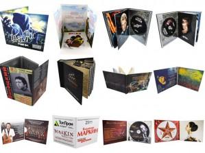 Тиражирование дисков и производство упаковок в любых объёмах от компании «СиДи Мейк Студио»