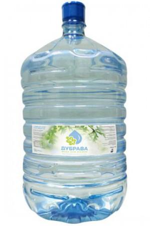 Интернет-магазин «Четыре капли» выпустил воду «Дубрава» 19л. в новой упаковке