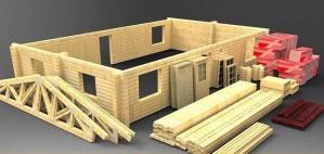 Варианты бруса для сооружения деревянных домов и их особенности
