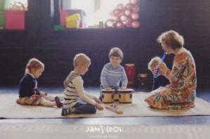Jam`s cool приглашает малышей на музыкальные уроки!