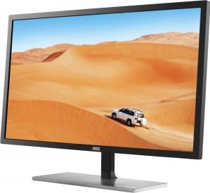 AOC представляет 31, 5-дюймовый монитор с IPS-панелью, разрешением QHD, частотой обновления 75 Гц, временем отклика 5 мс и AMD FreeSync