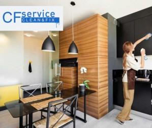 Уборка с CFservice – качественно и надежно