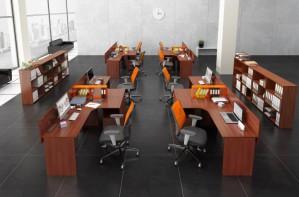 Офисная мебель для персонала в каталоге ООО «ОФИСНАЯ МЕБЕЛЬ АЛЬФА-М»