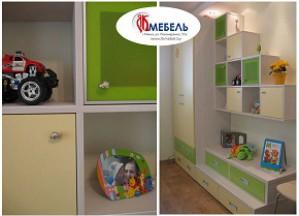 Мебель для современной детской комнаты