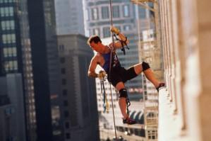 Промышленный альпинизм - современное решение наружных ремонтных проблем.