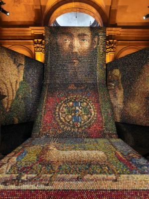 Украинская Православная Церковь, Синодальный отдел «Миссия Церковь и культура» поддерживает Оксану Мась и ее арт-инсталляцию «Алтарь наций»