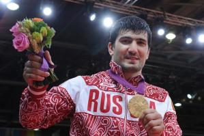 Олимпийский чемпион Тагир Хайбулаев.