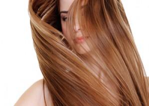 Волос, струящийся поток