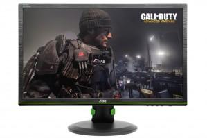 Геймерские дисплеи AOC на выставке Gamescom-2015