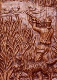 Барельеф - магазин сувениров и подарков из дерева